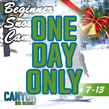 Beginner - One Day Christmas Snowboard Camp