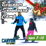 Beginner - 4 Day Christmas Snowboard Camp