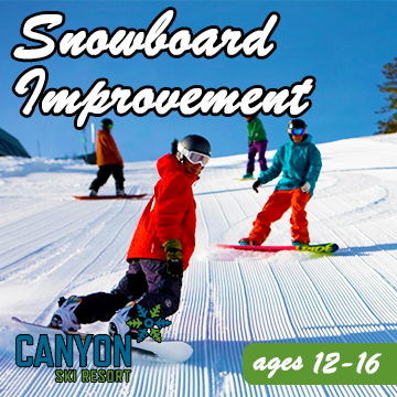 Snowboard Improvement - Ages: 12-16